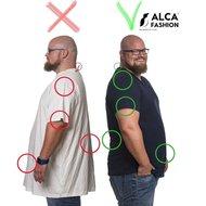 Alca Fashion - T-shirt ronde hals wit