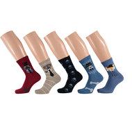 Jongens fantasie sokken - 5 pak