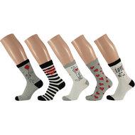 Meisjes fantasie sokken - 5 pak