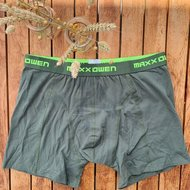 Maxx Owen heren boxershort - Groen + Lime
